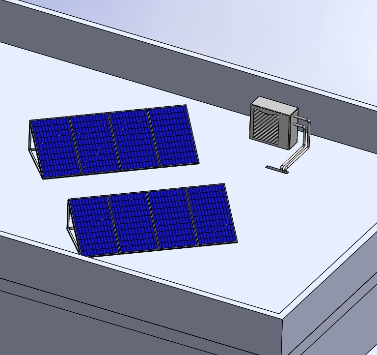 fotovoltaica y aerotermia albedo solar